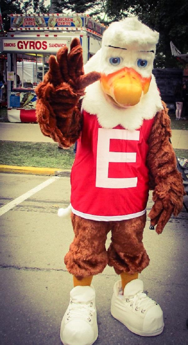 Eagle Mascot by Dmitri Gheorgheni