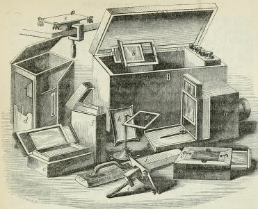 Early photographic equipment