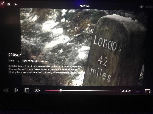 Robbie Stamp's in-flight movie