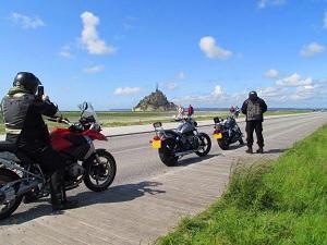 Stupid English bikers.
