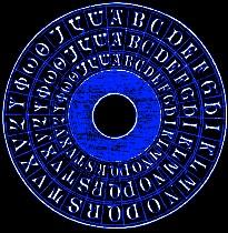 Giordano Bruno's memory wheel.