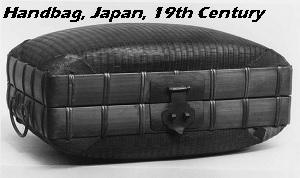 Japanese ladies' handbag, 19th Century