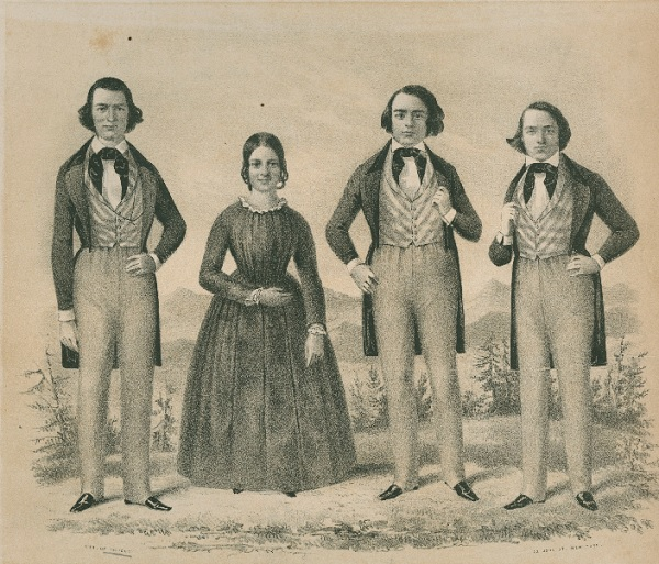 The Hutchinson Family, America's first protest singers