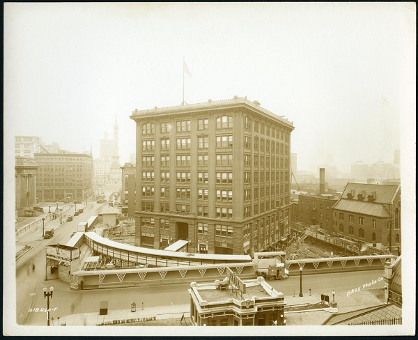 The Indiana Bell Building, 1931.