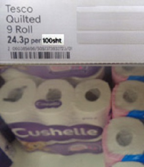 Toilet paper for sale in the UK