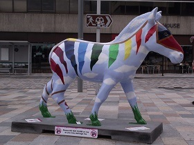 Bunty the Kite Zebra.