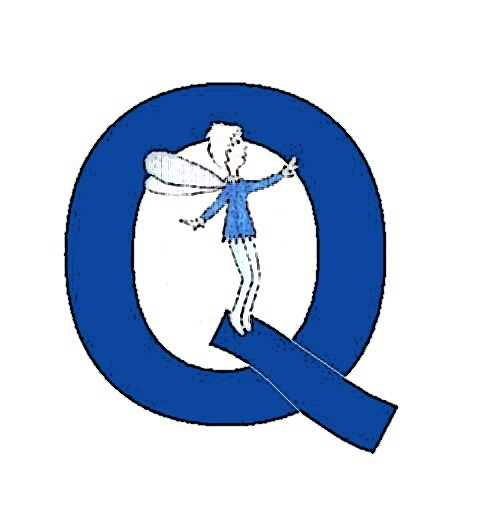 Join the Q logo.