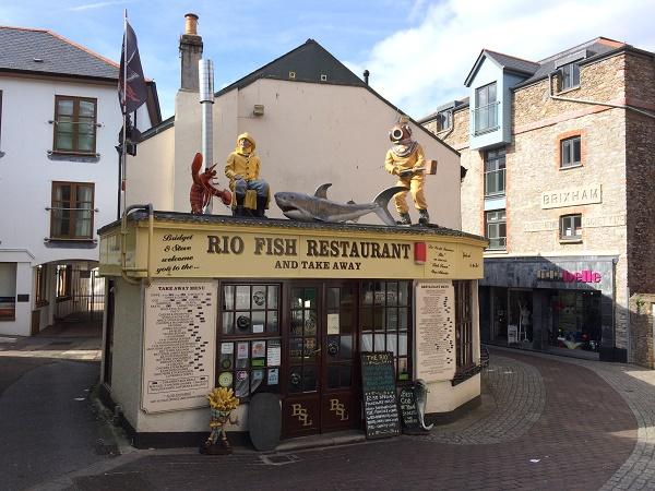 A lobster restaurant.