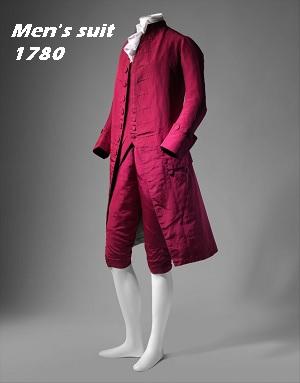 Men's suit, 1770