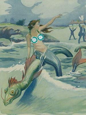 A mermaid's Twitter photo