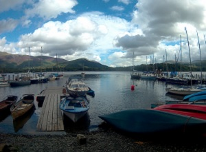 Messing about in boats in Cumbria