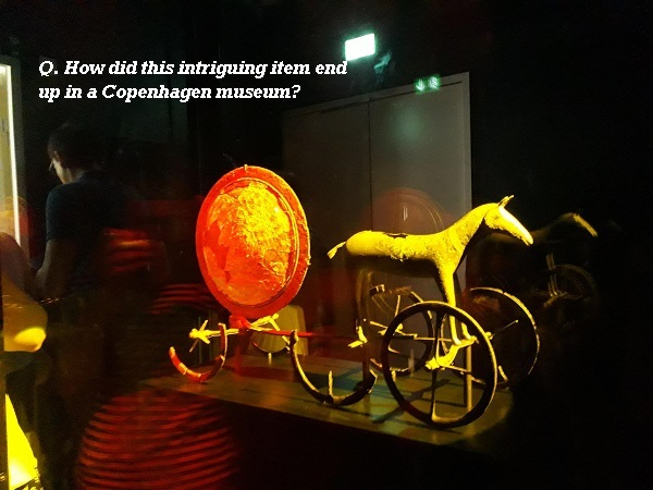 How did this item end up in a Copenhagen museum?