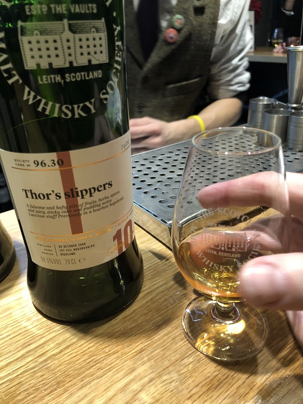 Rare whisky description by Robbie Stamp