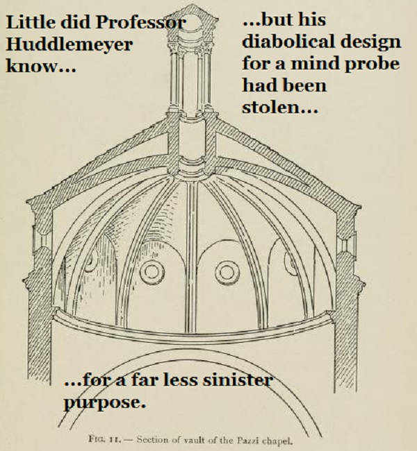 Design for a mind probe, or is it an architectural feature?