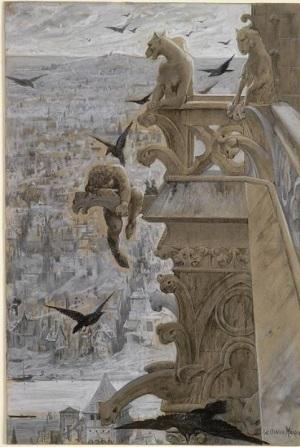 Notre Dame de Paris by Luc-Olivier Merson