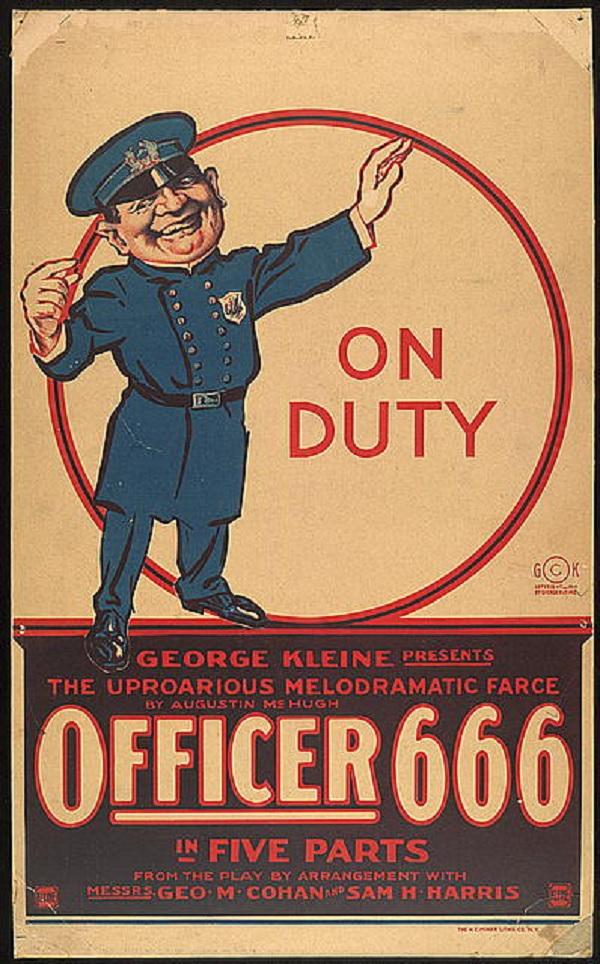 Officer 666. Srsly.