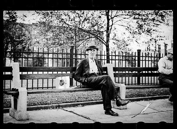 Park Bench Revelation by Dmitri Gheorgheni