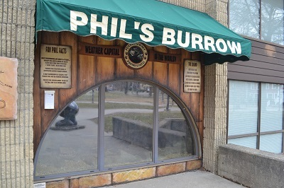 Phil's Burrow.