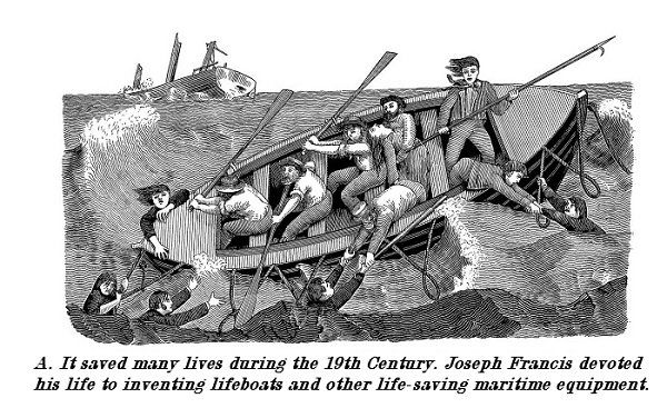 Joseph Francis saved many lives with his lifeboats and other maritime safety inventions.