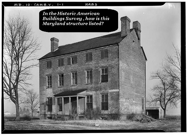 Guess how the architectural firm described this listed building in the US.