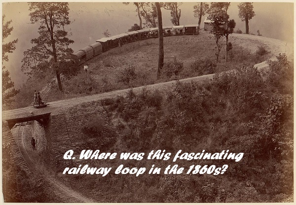 Where was this unusual railway in 1860?