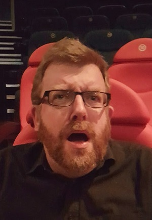 Awix reacting to a particularly awfully movie