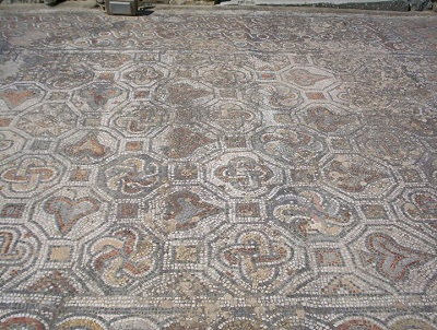 Mosaic floor, Roman, at Ephesus