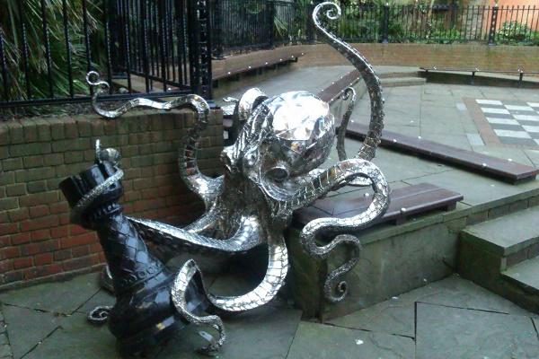 Knight Squid to Mermaid Three.