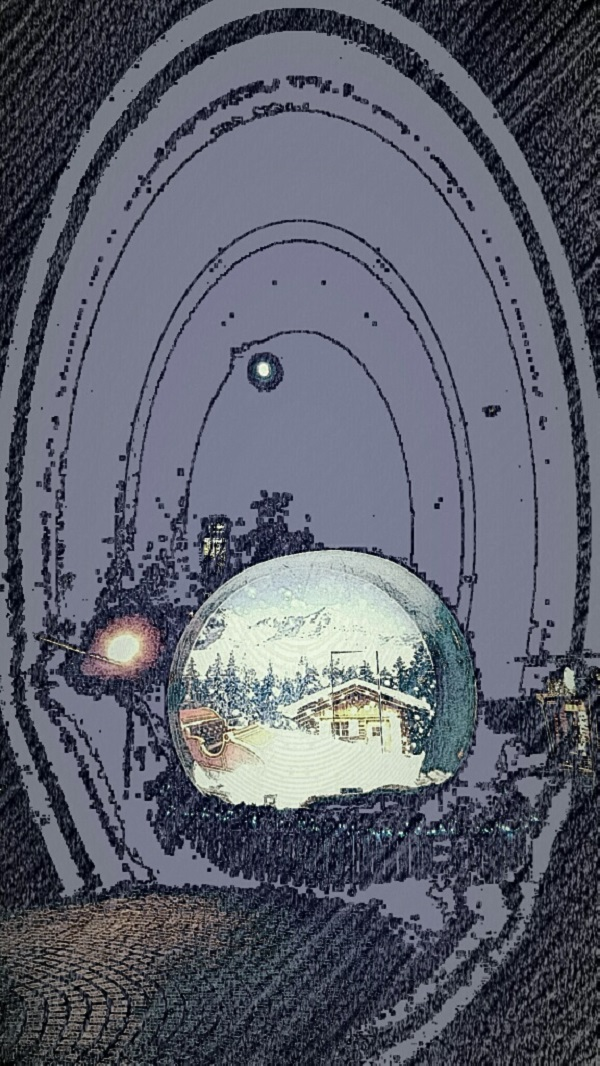 Snow globe magic.
