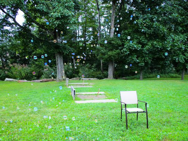 Soap Bubble Lawn by Dmitri Gheorgheni