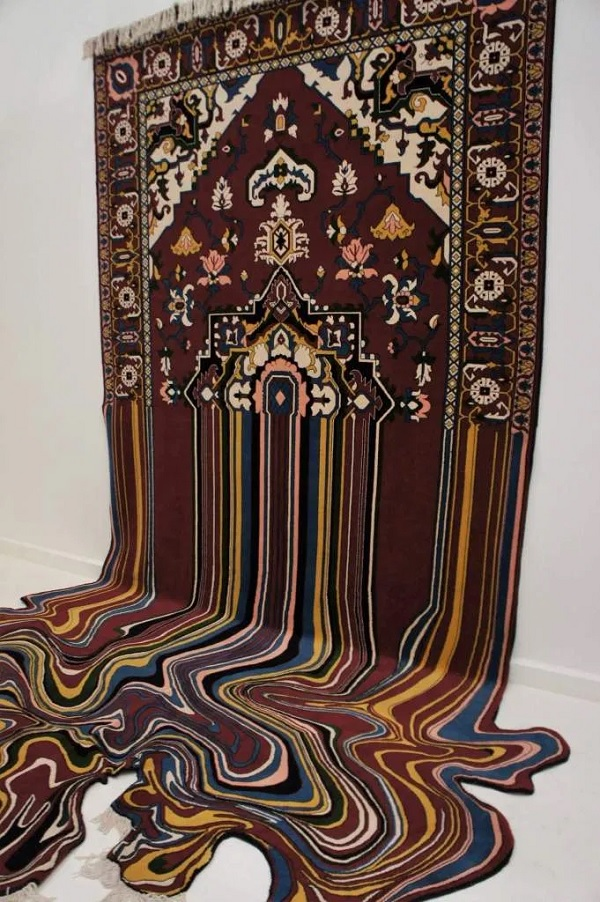 A surreal carpet