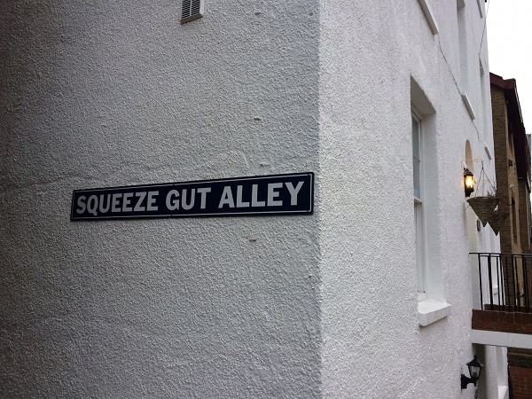 Squeeze Gut Alley.