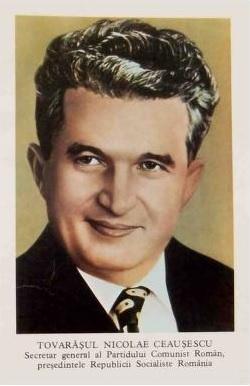 Nicolae Ceausescu, Communist dictator of Romania