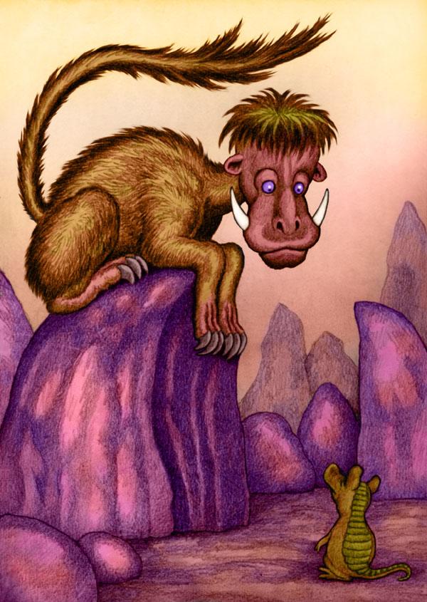 Weird Critter by Willem
