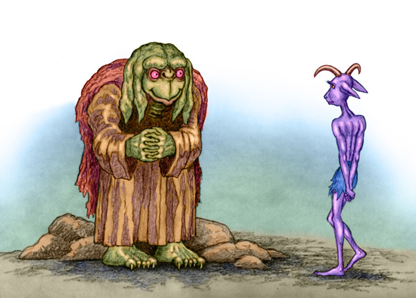 Weird Creatures by Willem