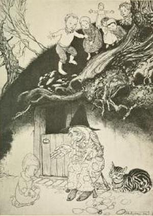 Witch of the Walnut Tree