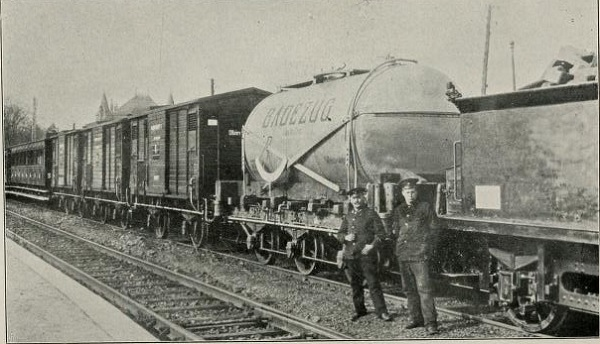 The German bath train.