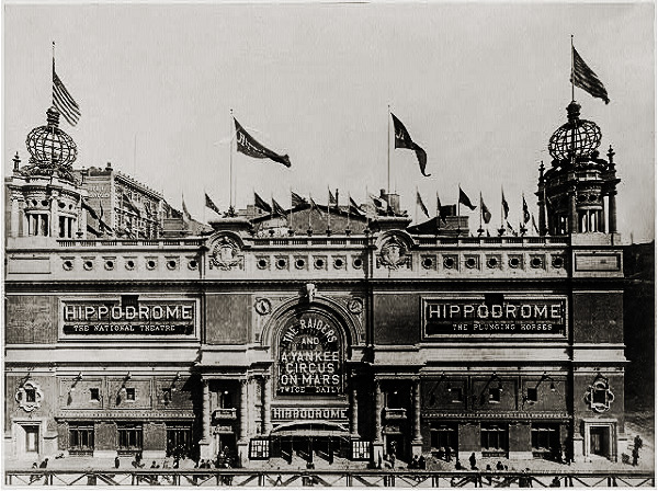 A Yankee Circus on Mars at the Hippodrome