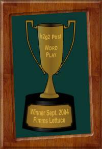 Wordplay Trophy by Wotchit