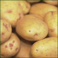 Some potatoes.