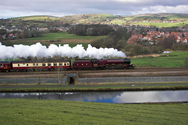 Ex-LMS Princess Royal Pacific - Princess Elizabeth