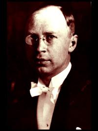 A portrait of Sergei Prokofiev.