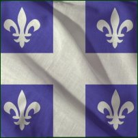 Drapeau du Québec (The province of Quebec flag)