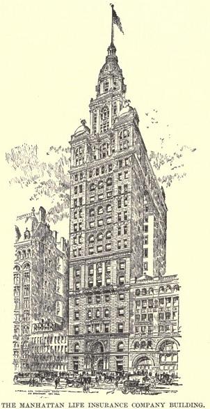 A very futuristic building in 1895.
