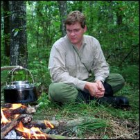Ray Mears contemplates navigating his way back to civilisation.