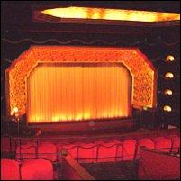 Inside the Rex Cinema, Berkhamsted.