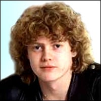 Rick Allen, Def Leppard's drummer, in a picture taken in 1980.