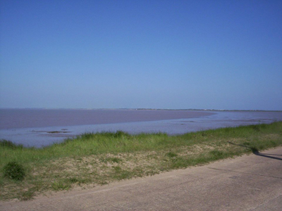 The River Humber from Spurn, by Galaxy Babe