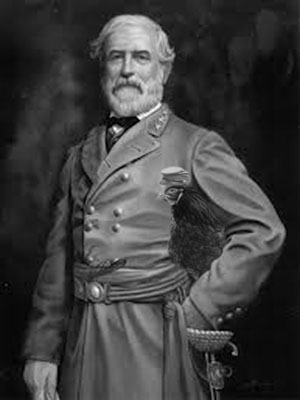 Robert E Lee really DID have a pet chicken. It's history. Forget about the horse statues.