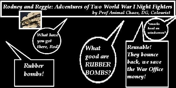 The advantages of rubber bombs.